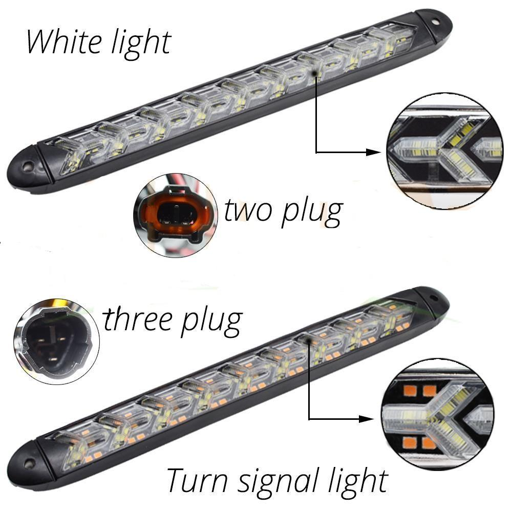 Lights with plug information