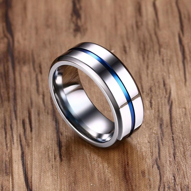 Silver ring vertical