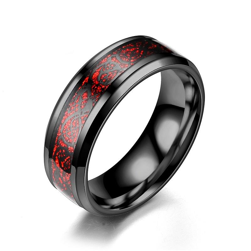 Black/red ring