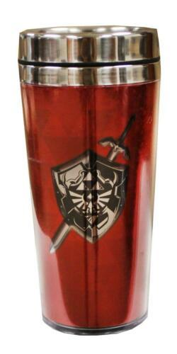 Legend Of Zelda Travel Mug Metal Lid