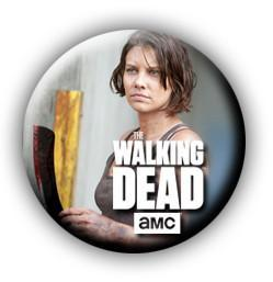 Walking Dead Maggie Button