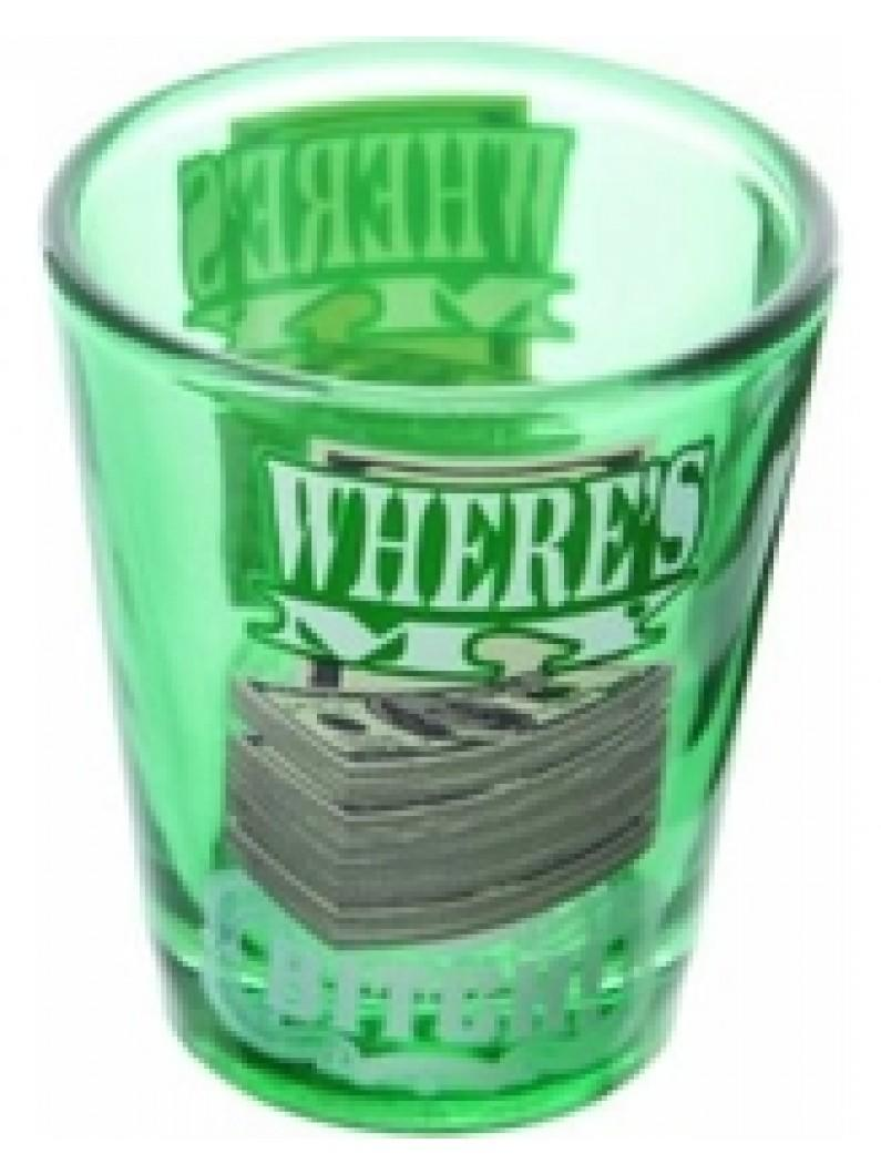 Breaking Bad Where's My Money Shotglass