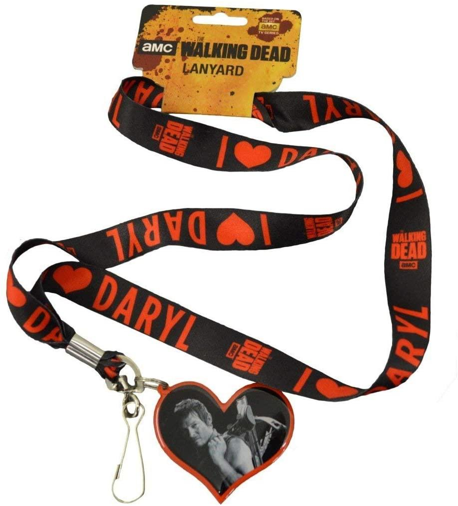 Walking Dead Red & Gray Lanyard