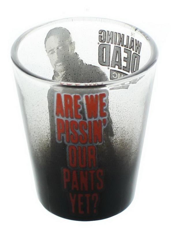 Walking Dead Negan Shotglass