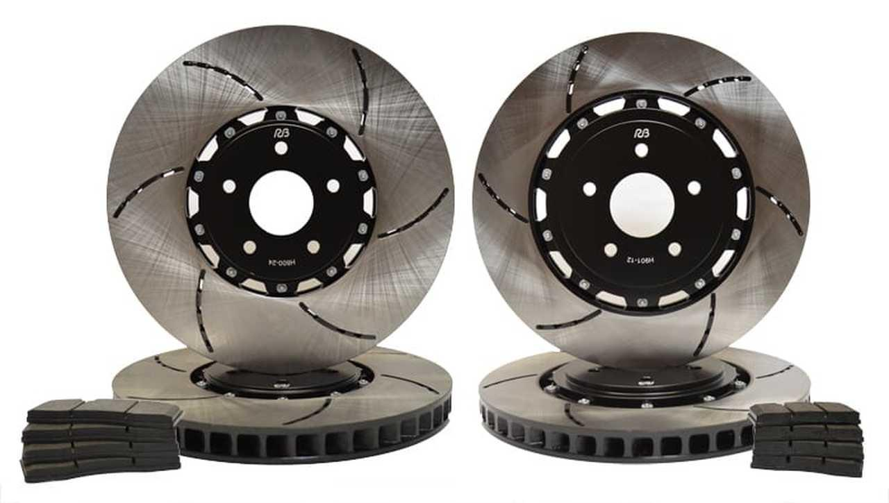 Replacement 2-piece rotor kit for Tesla Model S & X