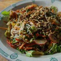 Asian noodle salad to entice