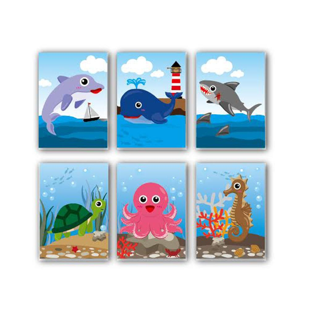 Bloc-notes | Sea Buddies (Vie Marine) Carnets Pour Enfants