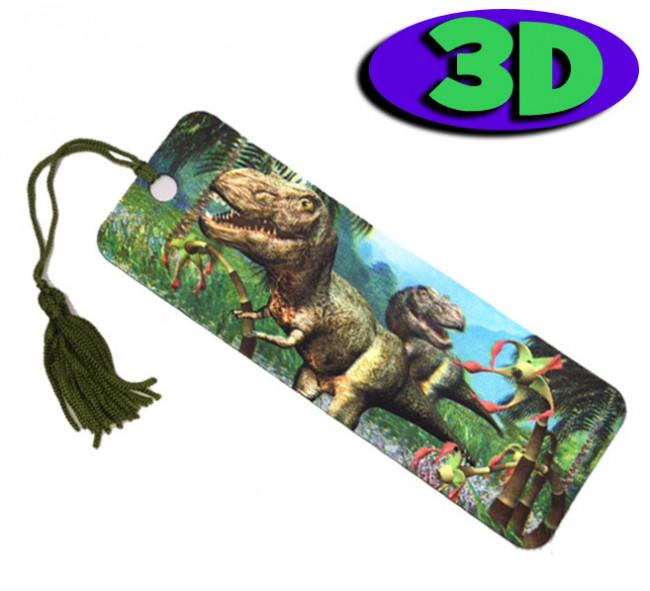 3D Marques-Pages | Dinosaures 3D
