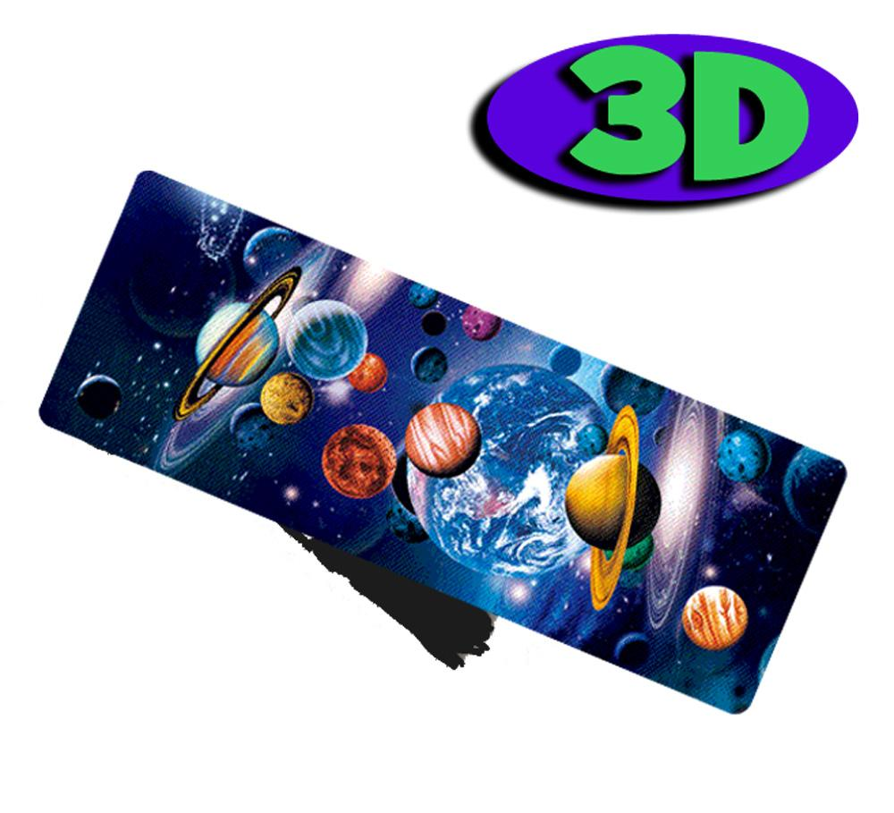 Marque-page 3D | Espace / Planets