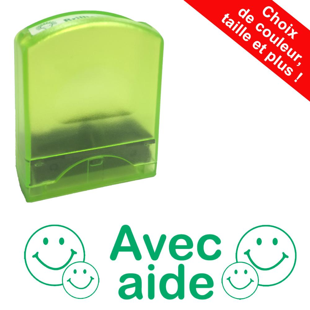 Fournitures Scolaires | Avec aide Tampons Auto-Encreurs - 33x9mm