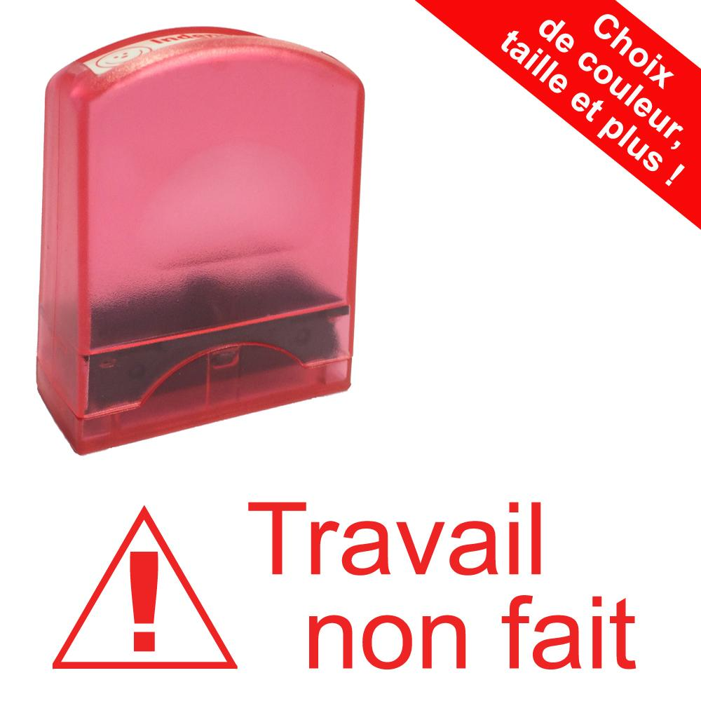 Tampons Ecole | Travail non fait Tampons Auto-Encreurs - 33x9mm