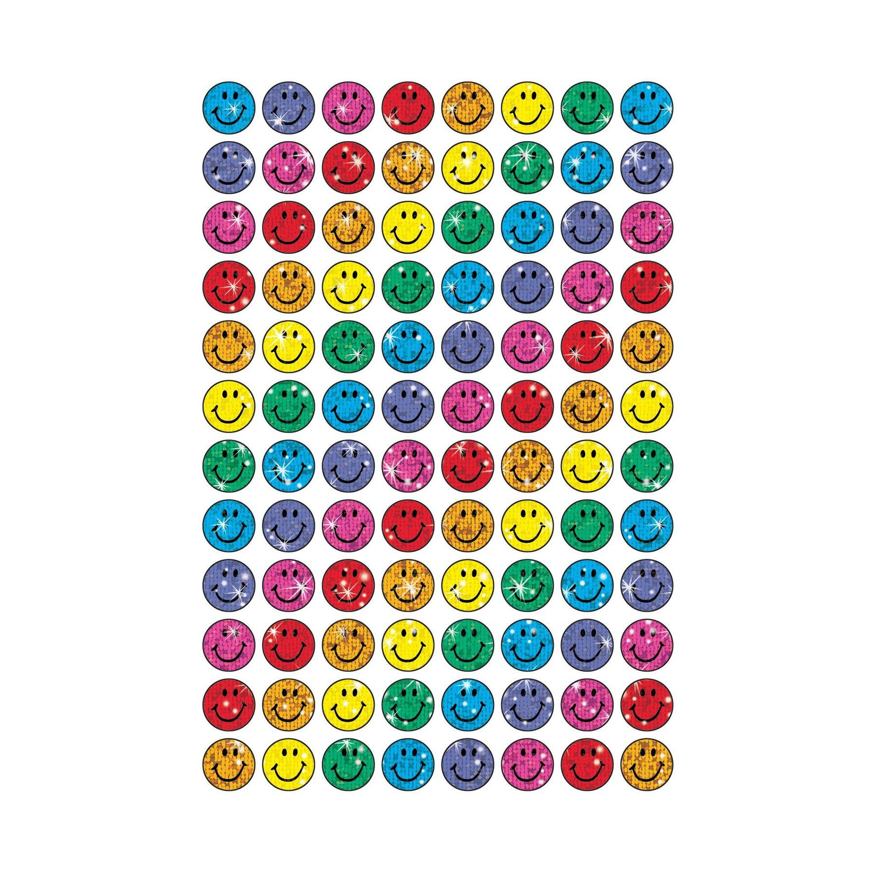 Autocollants Emoji | Colorful Smiles SuperSpots® Autocollants Mini x 400