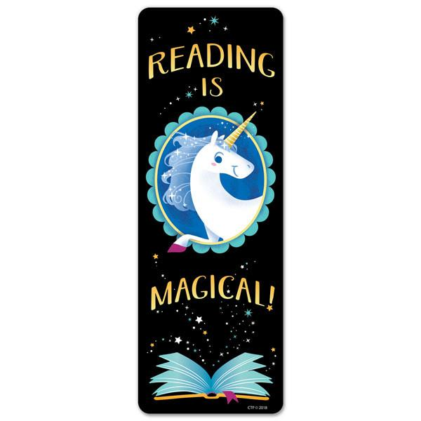 Marque-Pages | Reading is Magical! - Licorne