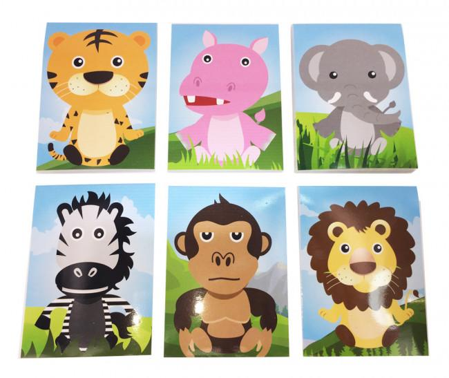 Bloc-notes | Animaux des Jungle Mini Carnets