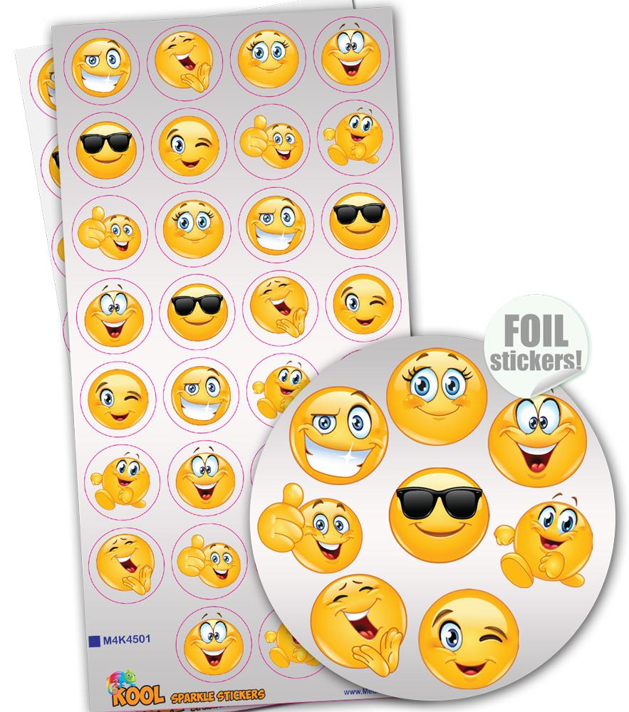 Stickers Enfants | Kool Smiles Emoji Autocollants Parfumés