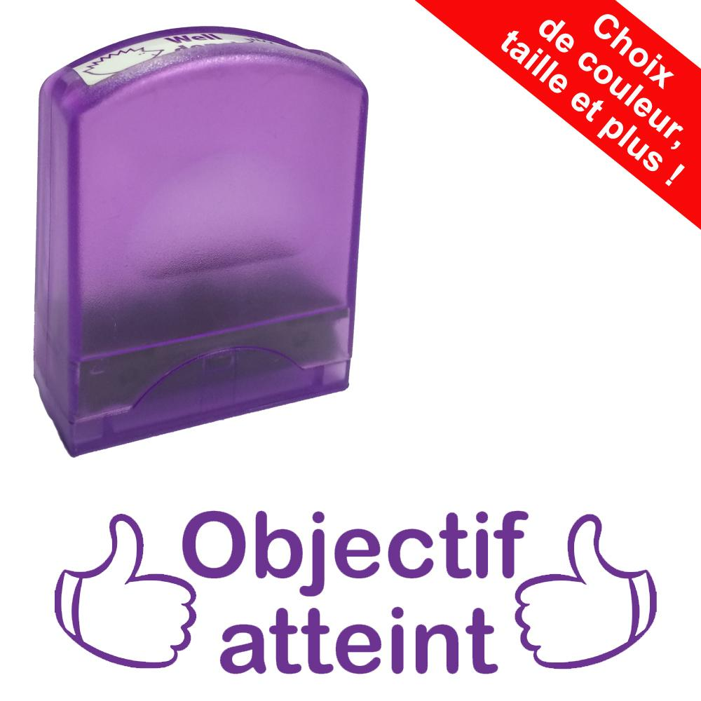 Fournitures Scolaires | Objectif atteint Tampons Auto-Encreurs - 33x9mm
