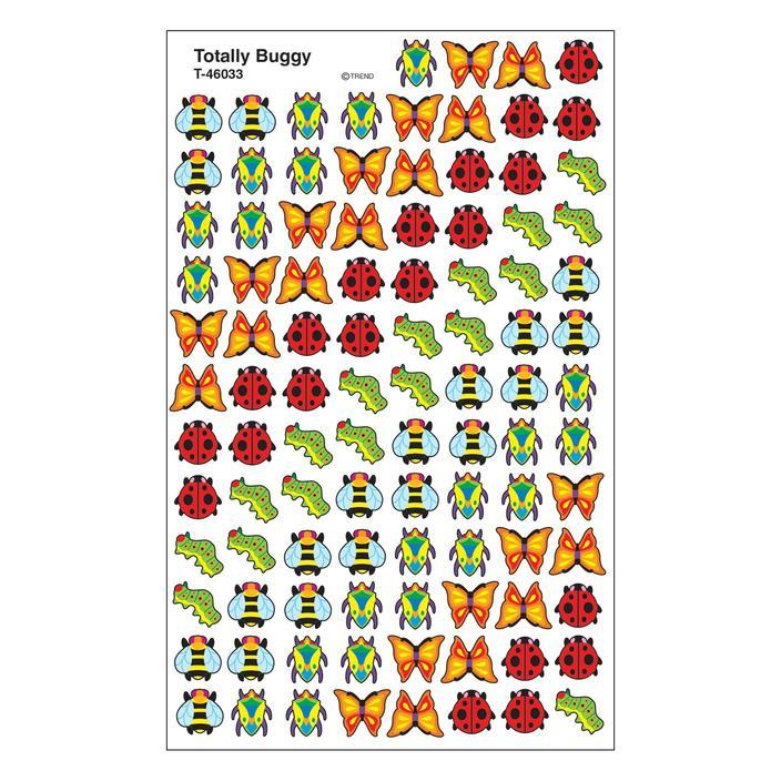 Mini Stickers | Totally Buggy SuperSpots® Petits Stickers Enseignants x 800