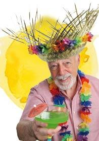 Beach party straw hat by Palmers 5815 available here at Karnival Costumes online party shop