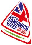 British Sandwich Week is in May - celebrate in style with sandwich flags and picks from Karnival Costumes online party shop