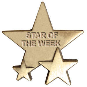Triple Star Badge - STAR OF THE WEEK