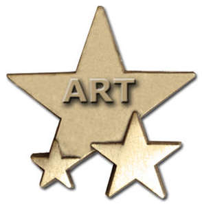 Triple Star Badge - ART