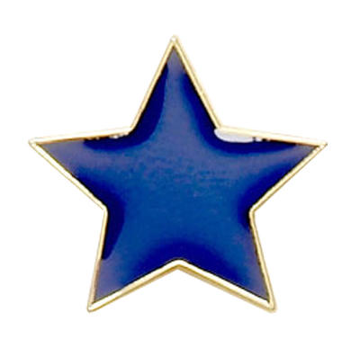 Star Badge Blue
