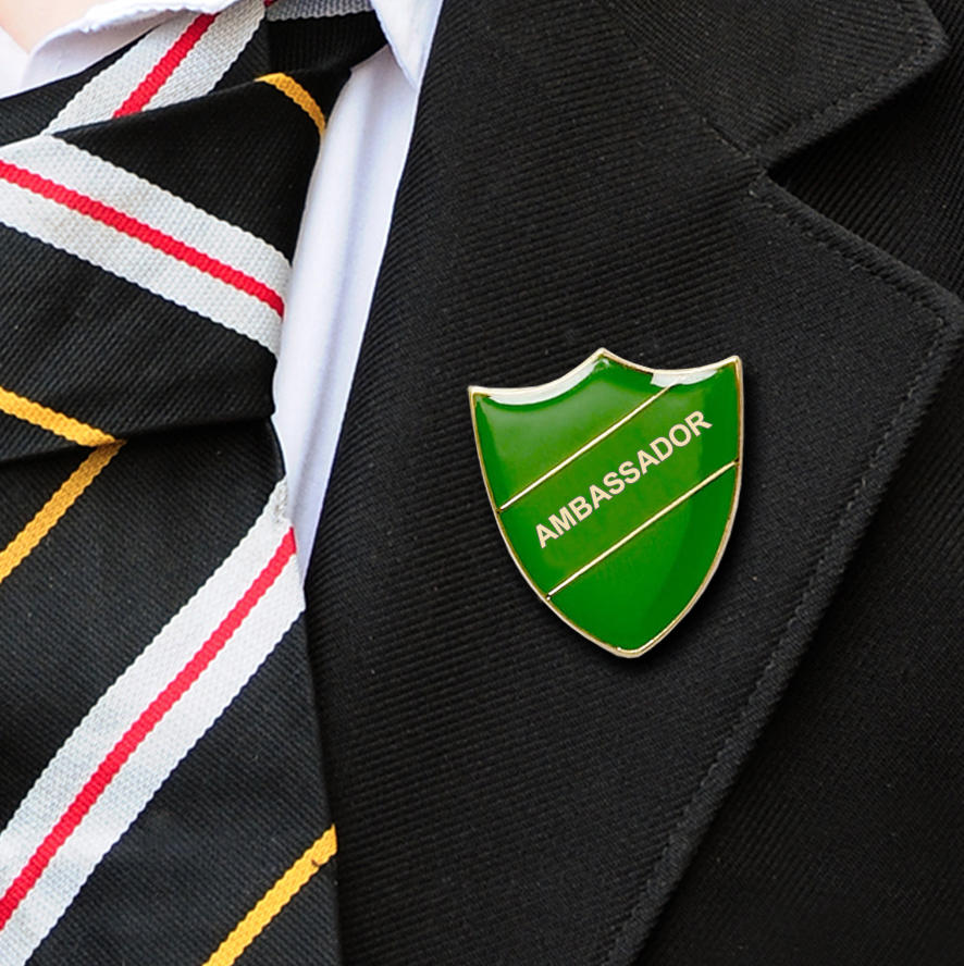 Green Ambassador Shield Badge