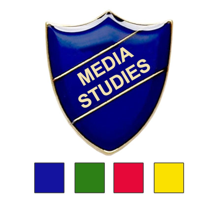 MEDIA STUDIES SCHOOL BADGE SHIELD