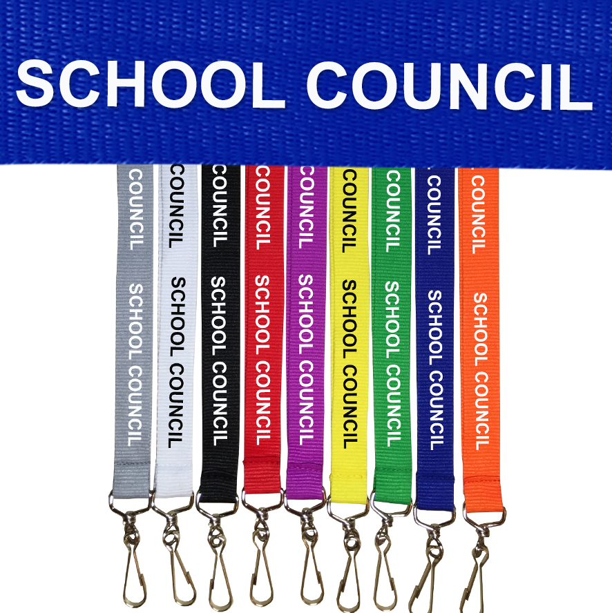 SCHOOL COUNCIL LANYARDS