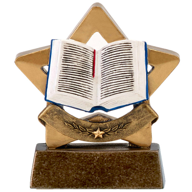 reading mini star trophy