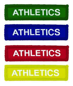 Woven Coloured Athletics Badges