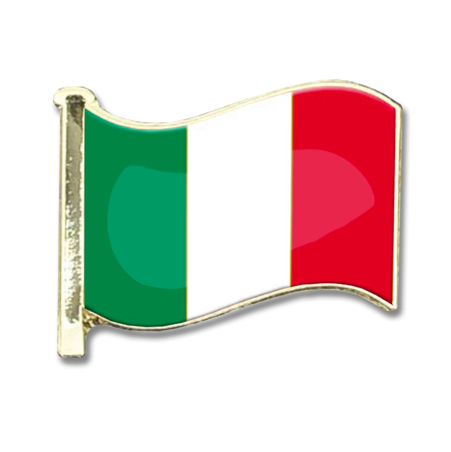 Italy Flag Badge