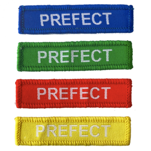 prefect woven patches