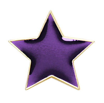 Star Badge Purple