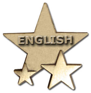 Triple Star Badge - ENGLISH
