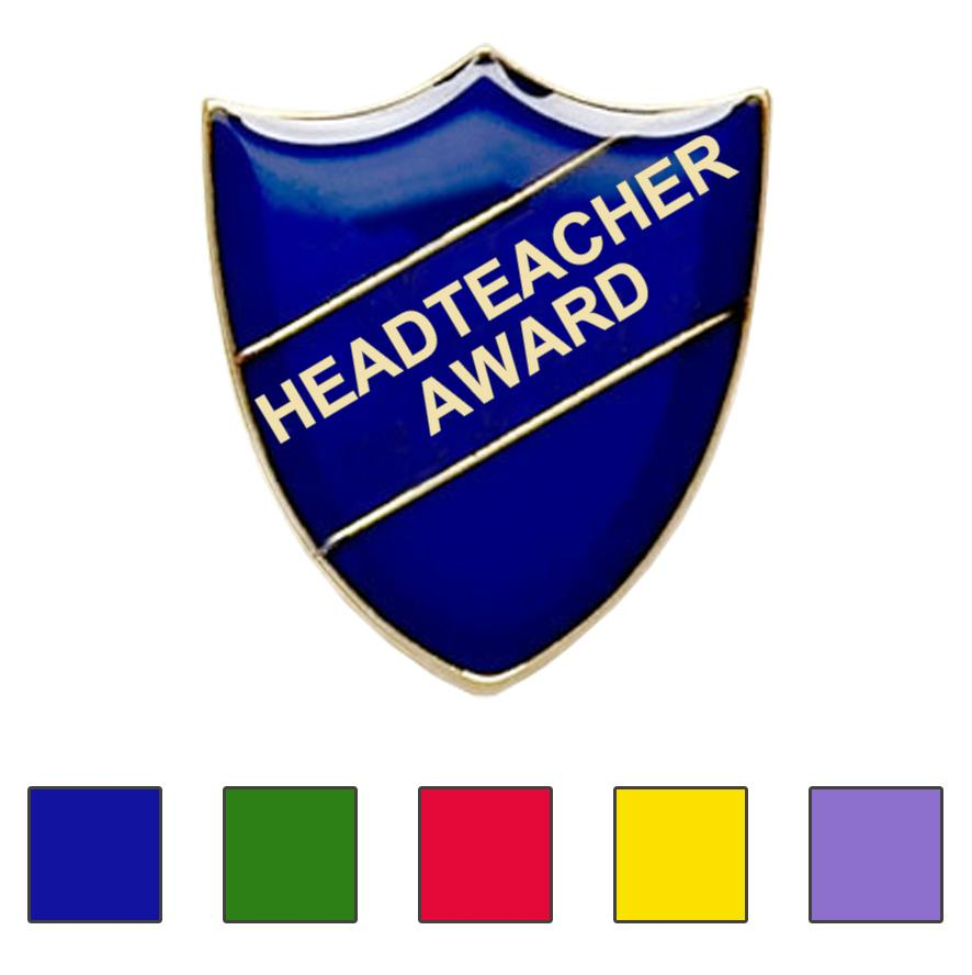 Headteacher award school badge