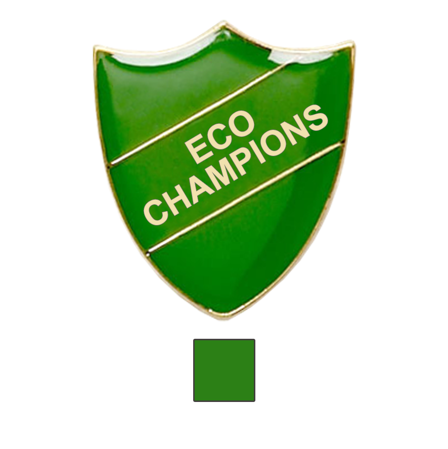 Eco Champions school badges