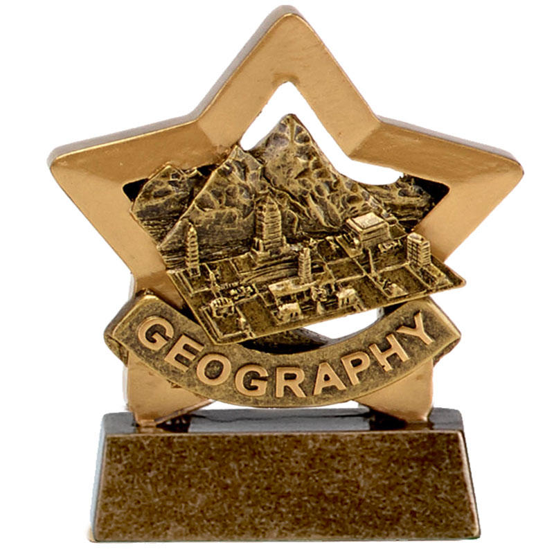 Geography Mini Star Trophy