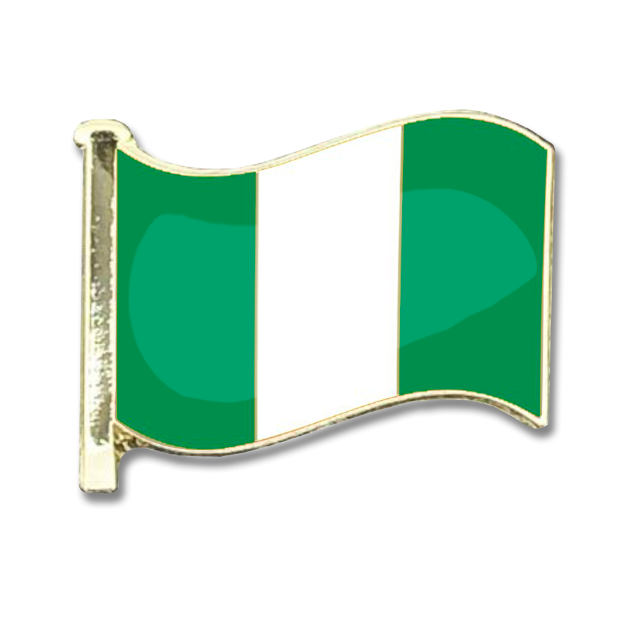 Nigeria Flag Badge