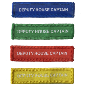 Deputy House Captain Woven Patches