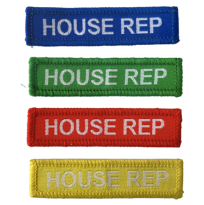 House Rep Woven Patches