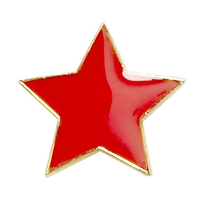 Star Badge Red