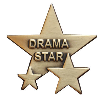 Triple Star Badge - DRAMA STAR