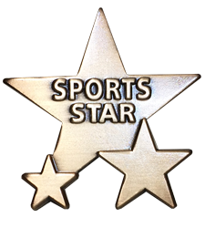 Triple Star Badge - SPORTS STAR