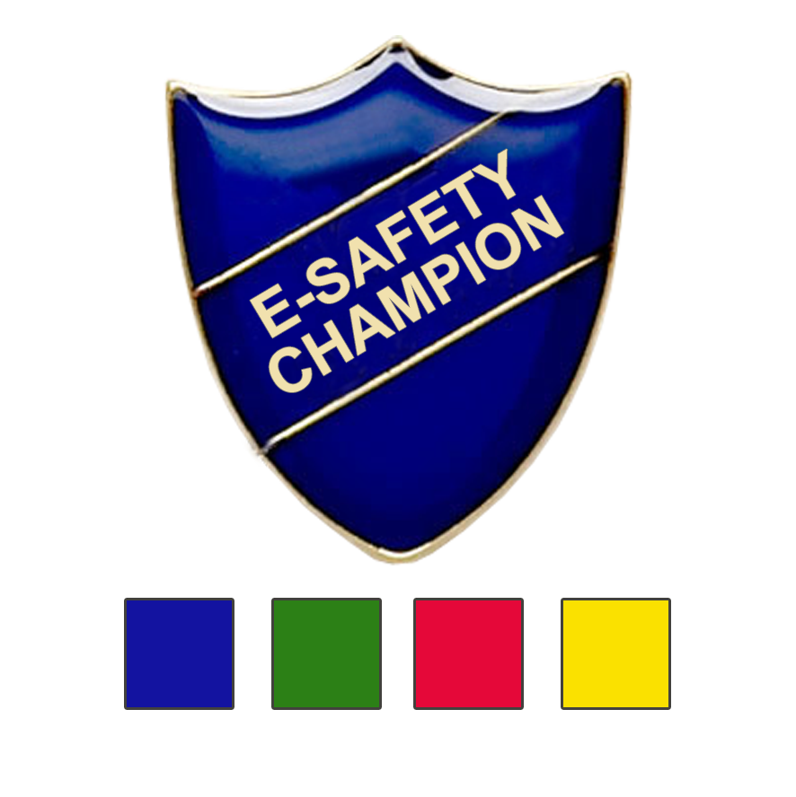 E-SAFETY CHAMPION SCHOOL BADGES