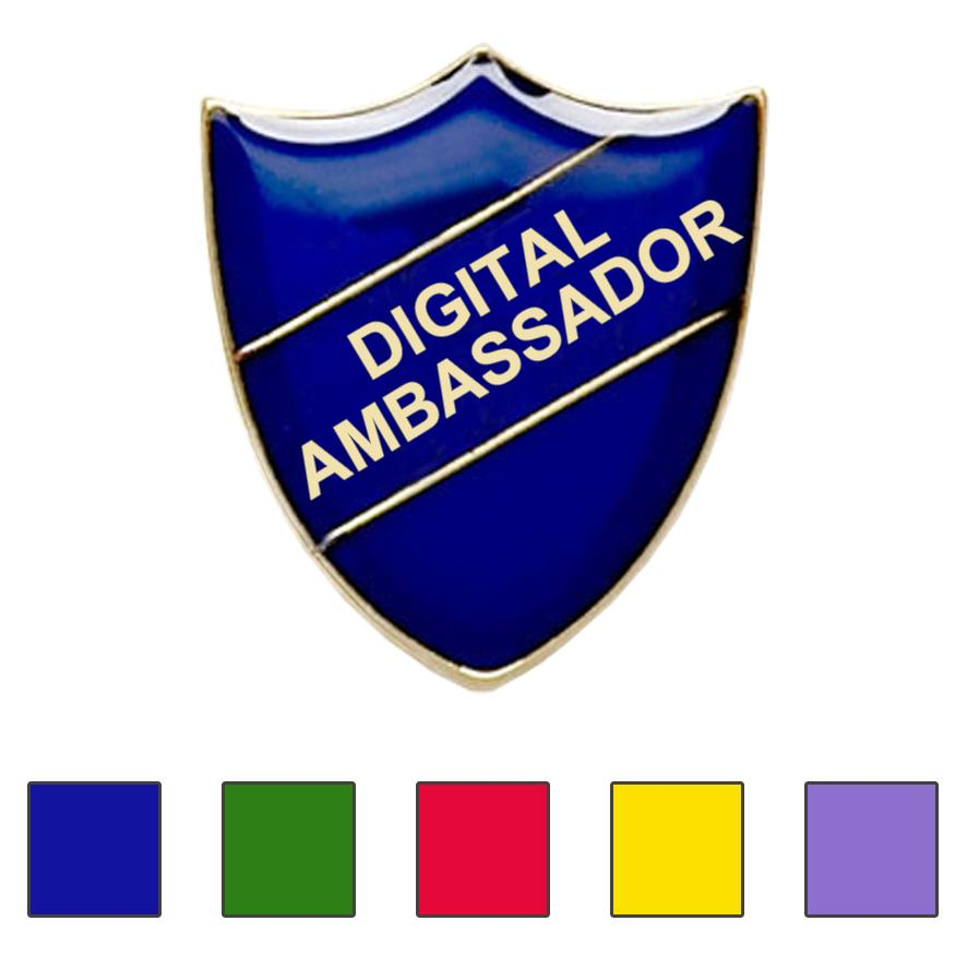 DIGITAL AMBASSADOR SCHOOL BADGES