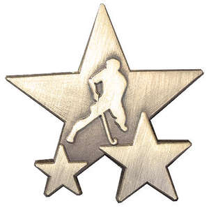 Triple Star Badge - HOCKEY