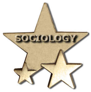 Triple Star Badge - SOCIOLOGY