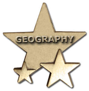 Triple Star Badge - GEOGRAPHY