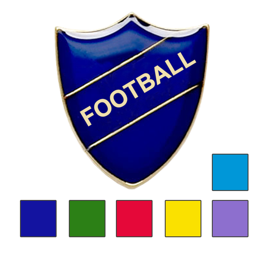 Football School Badge Shield